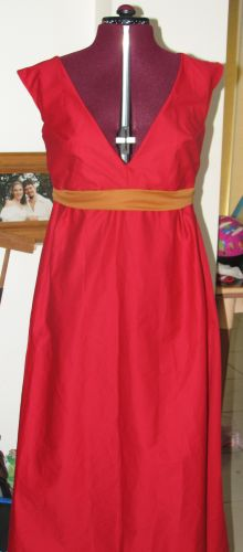Red Dress - front
