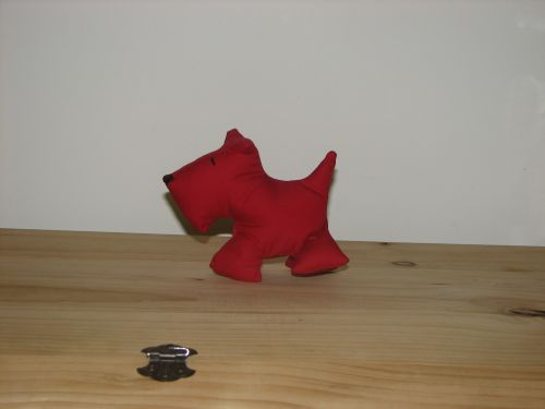 Red Scottie Dog