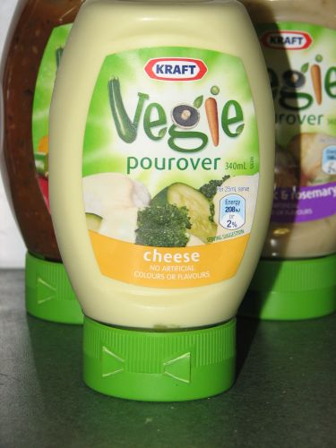 Vegie Pour Overs - Cheese