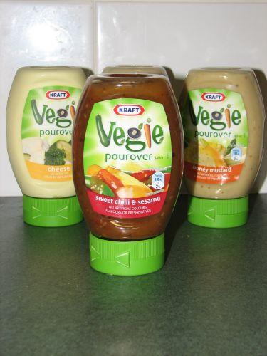 Vegie Pour Overs - Sweet Chilli & Sesame