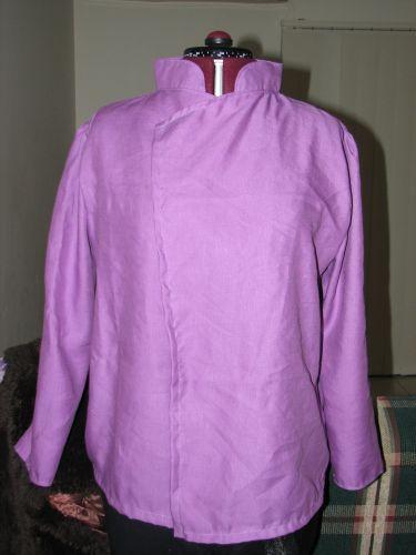Unfinished chef jacket
