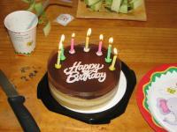 E6 Birthday Cake